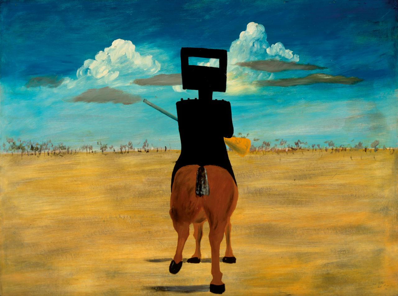 Sidney Nolan born Australia 1917, lived in England 1953-92, died England 1992