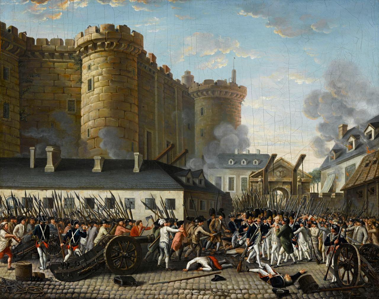 the historical importance of the storming of the bastille in france Bastille day marks the storming of the bastille prison on july 14, 1789, by angry parisian crowds this seismic act demonstrated that ordinary people would no longer accept the absolute power of.