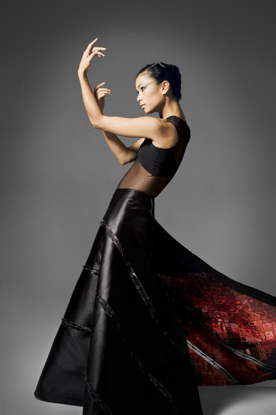 Vivienne Wong in Ralph Rucci Costume 2007 C. to C. (Close to Chuck), American Ballet Theatre