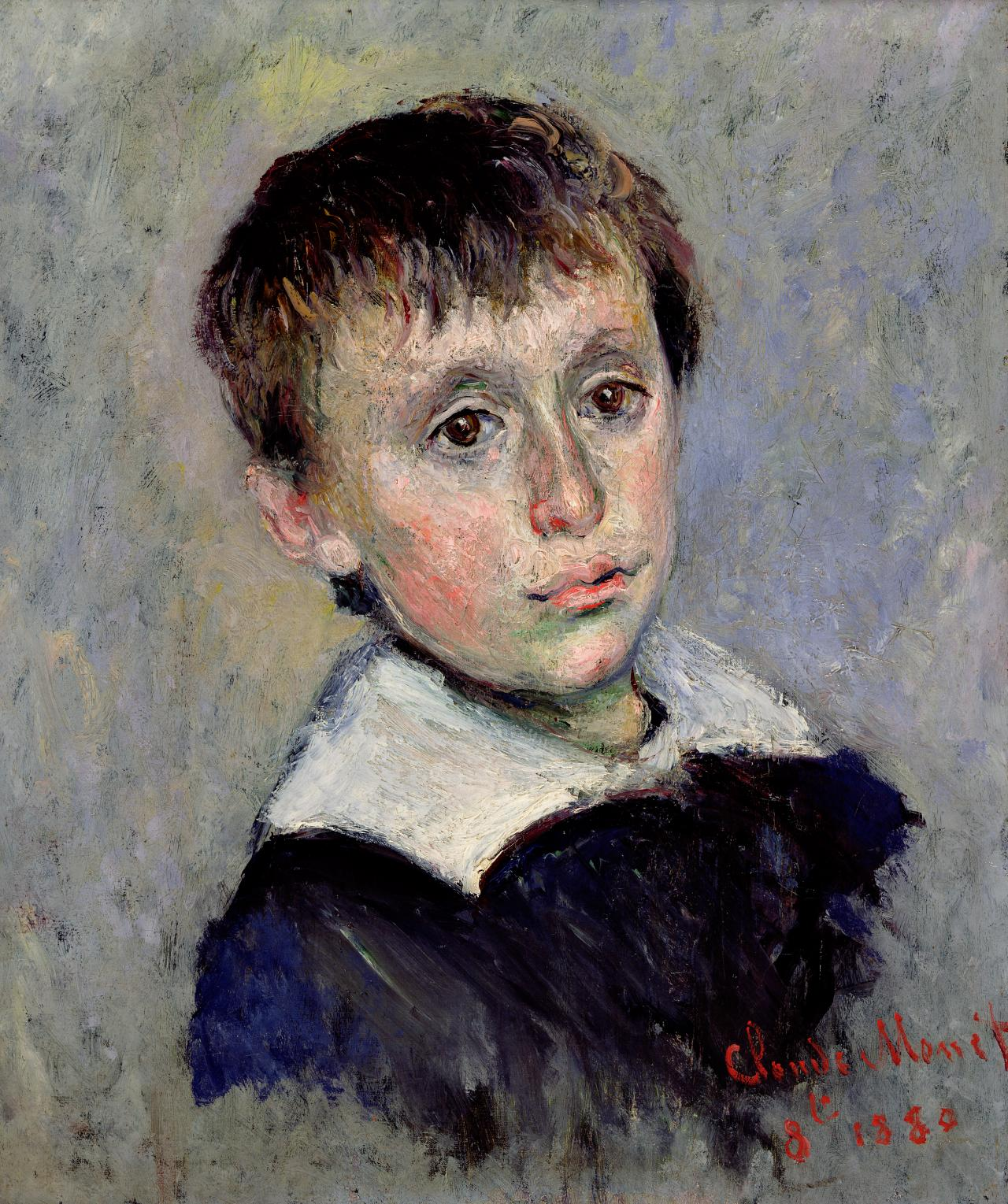 Claude Monet Portrait of Jean Monet (Portrait de Jean Monet) 1880