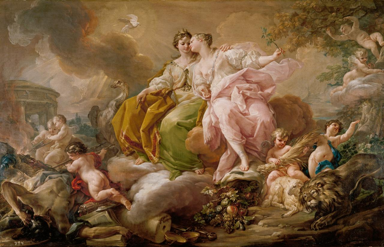 Corrado Giaquinto Italian 1703–1766, worked in Spain 1753–62
