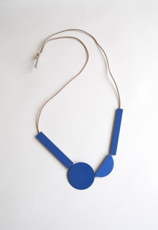 Meredith Turnbull Hanging Sculpture necklace, 2012–13