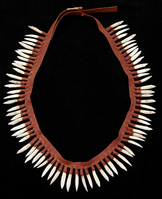 Maree Clarke Kangaroo Tooth Necklace 2013