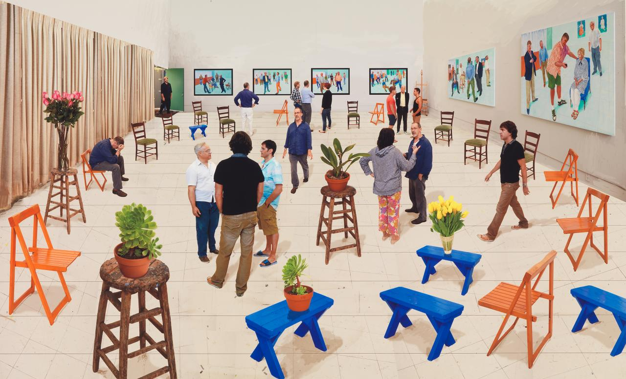 David Hockney NGV