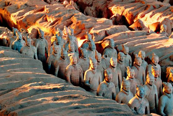 CHINESE The terracotta army