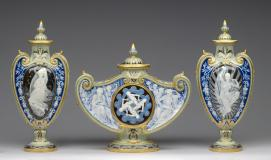 MINTON, Stoke-on-Trent, Staffordshire (manufacturer); Marc-Louis-Emmanuel SOLON (decorator)