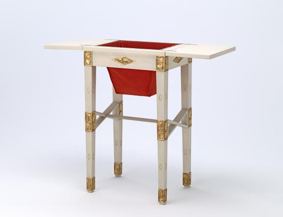 Josef HOFFMANN (designer); WIENER WERKSTÄTTE, Vienna (commissioning workshop); J. SOULEK, Vienna (manufacturer) Work table, from the Gallia apartment boudoir (c. 1912)