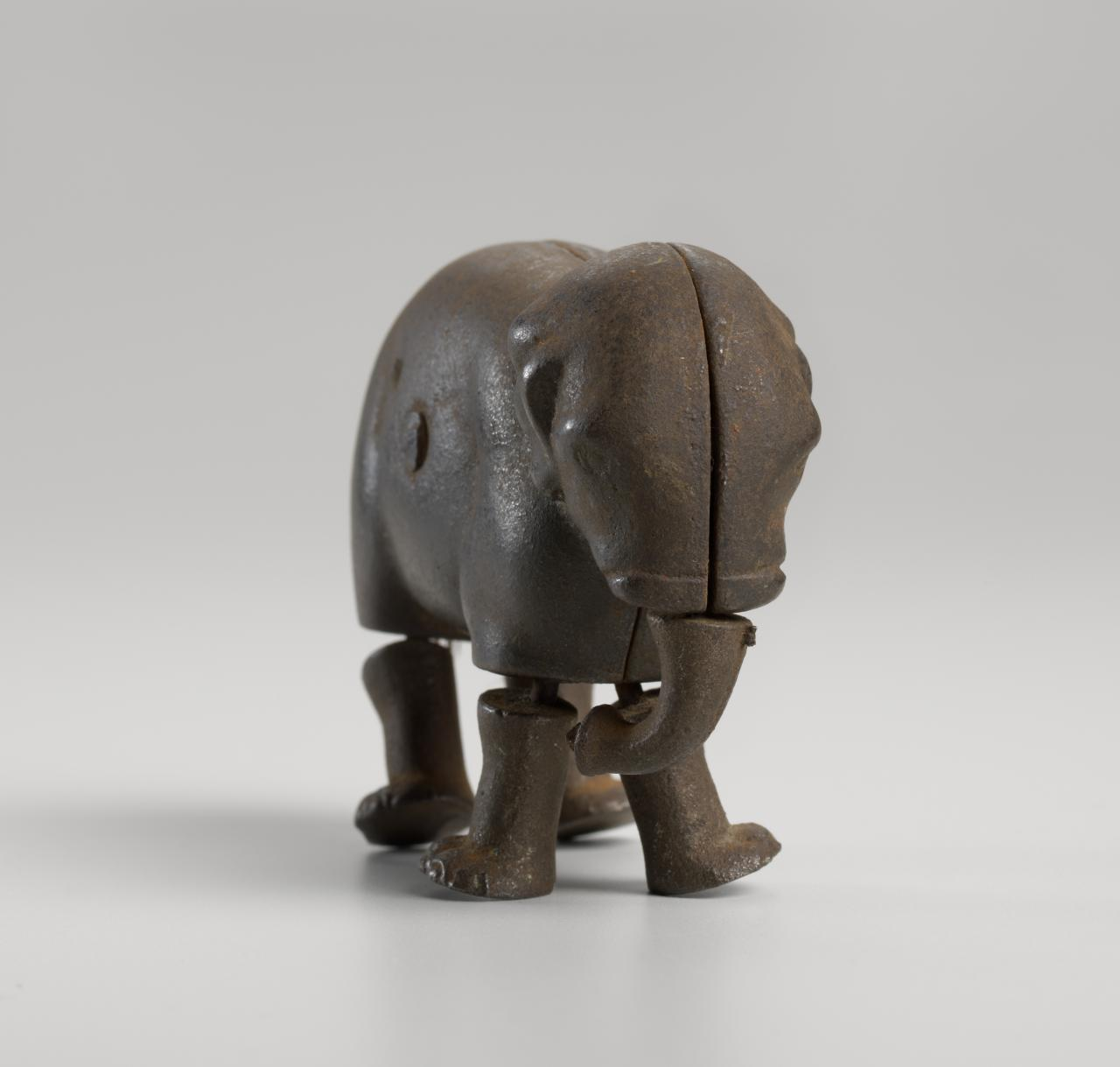 IVES AND BLAKESLEE & CO., Bridgeport, Connecticut (manufacturer) Toy elephant (1873-1890s)