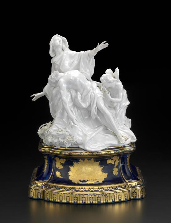 CHELSEA PORCELAIN FACTORY, London (manufacturer); Joseph WILLEMS (modeller) Pietà (c. 1761)