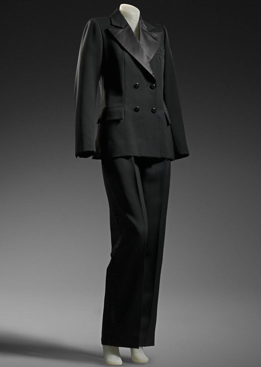 Smoking suit | YVES SAINT LAURENT RIVE GAUCHE, Paris ...