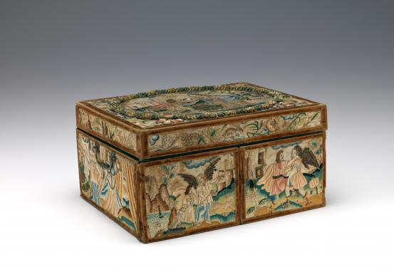 (ENGLAND) Writing box (c. 1665)