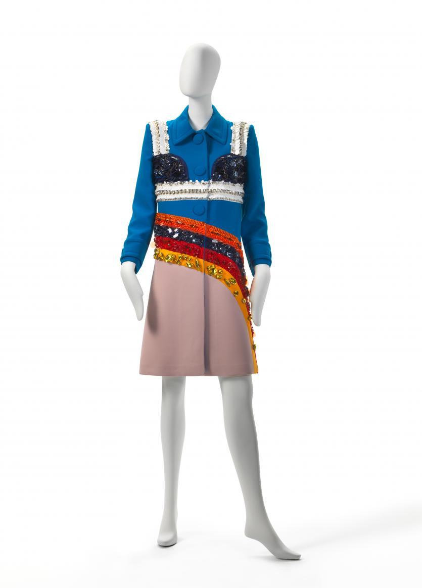 Coat Prada Milan Fashion House Miuccia Prada
