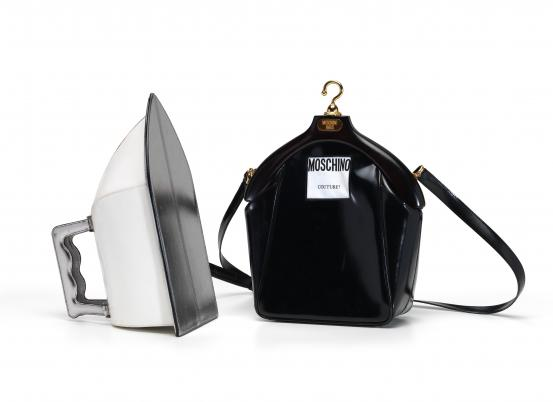 MOSCHINO, Milan (fashion house); Franco MOSCHINO (designer) Steam iron handbag (1990s)