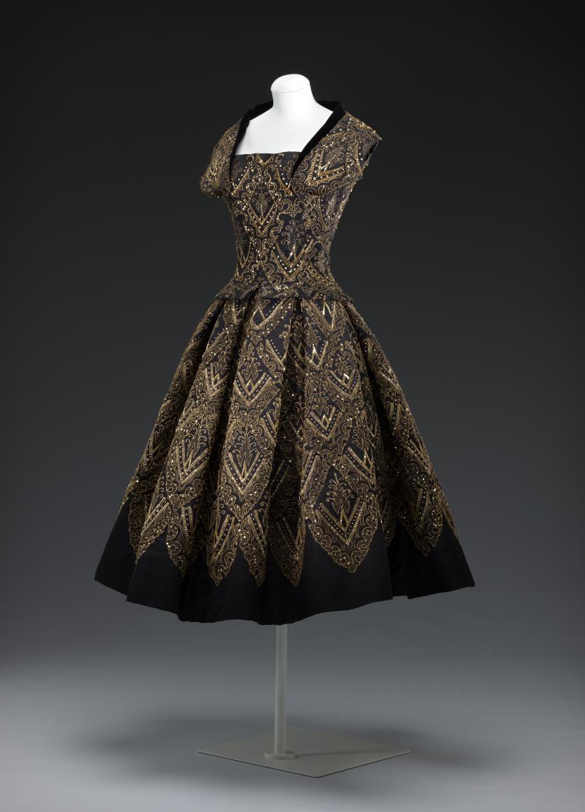 Evening Dress Mexico Christian Dior Paris Fashion