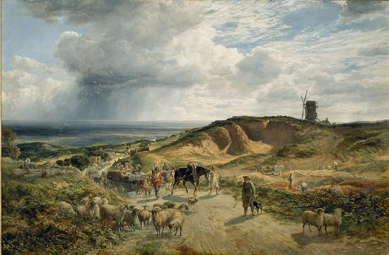 Sam BOUGH The weald of Kent 1857