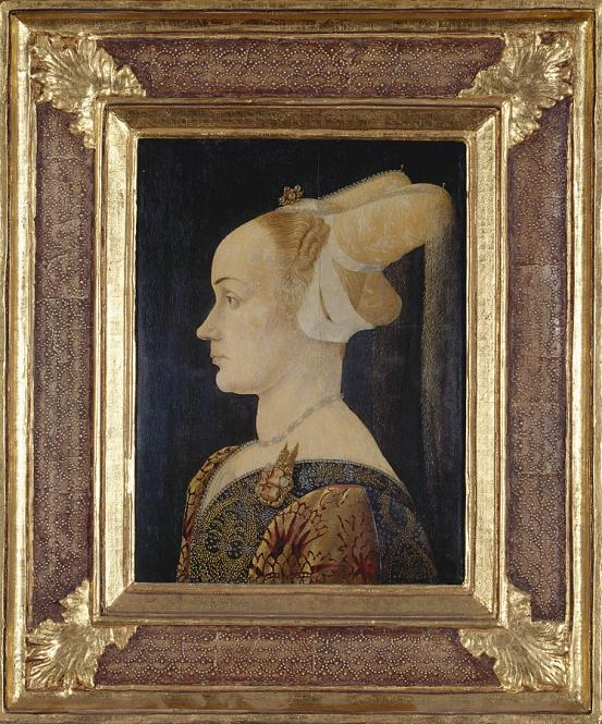 NORTHERN ITALY Profile portrait of a lady (c. 1465-1475)