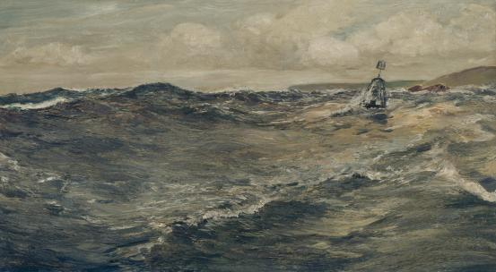 Charles Napier HEMY The bell buoy 1900