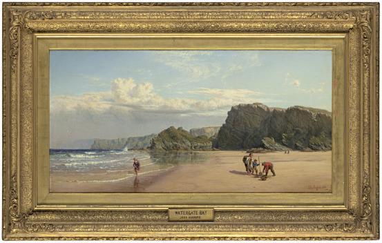 John MOGFORD Watergate Bay, near Newquay, Cornwall 1864