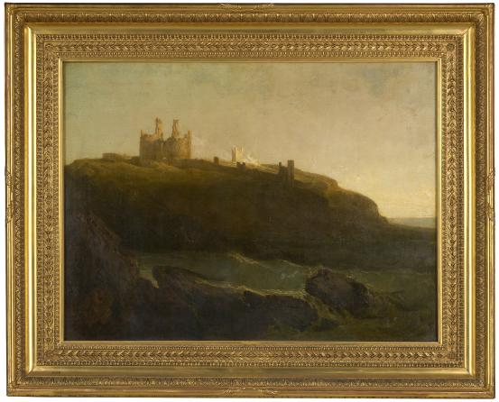 J. M. W. TURNER Dunstanburgh Castle, north-east coast of Northumberland, sunrise after a squally night (1798)