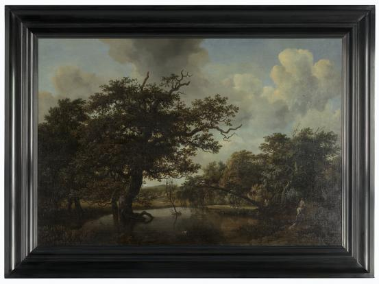 Meindert HOBBEMA The old oak 1662