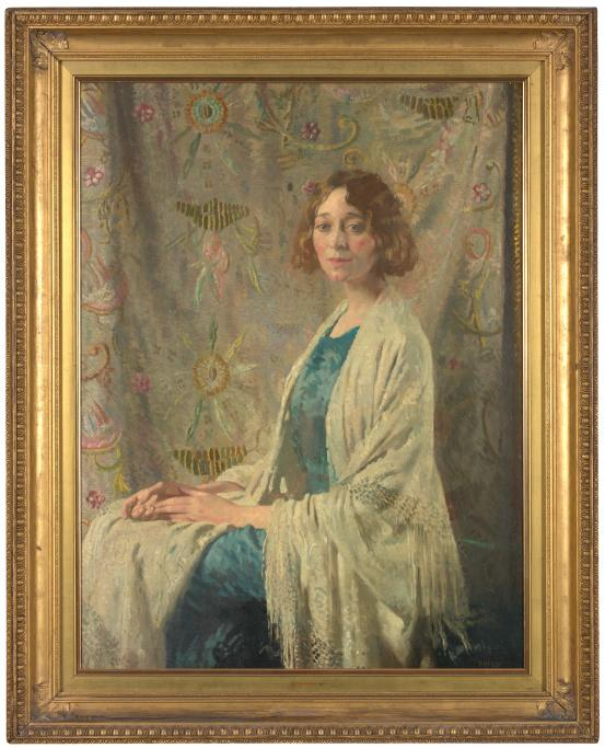 William ORPEN The Chinese shawl (1912)