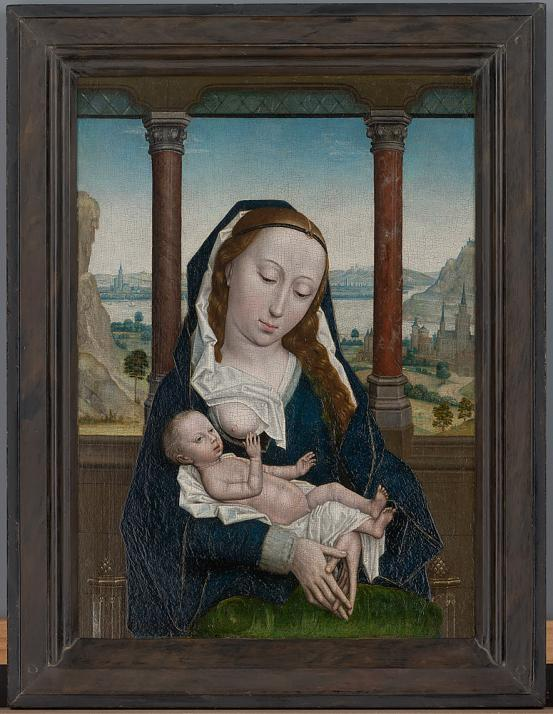 Simon MARMION The Virgin and Child (c. 1465-1475)
