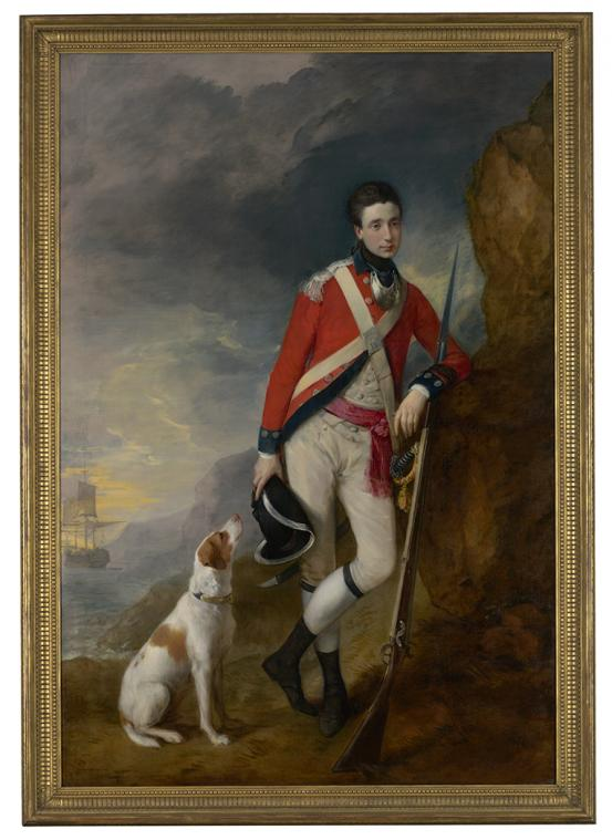 Thomas GAINSBOROUGH Richard St George Mansergh-St George (c. 1776-1780)