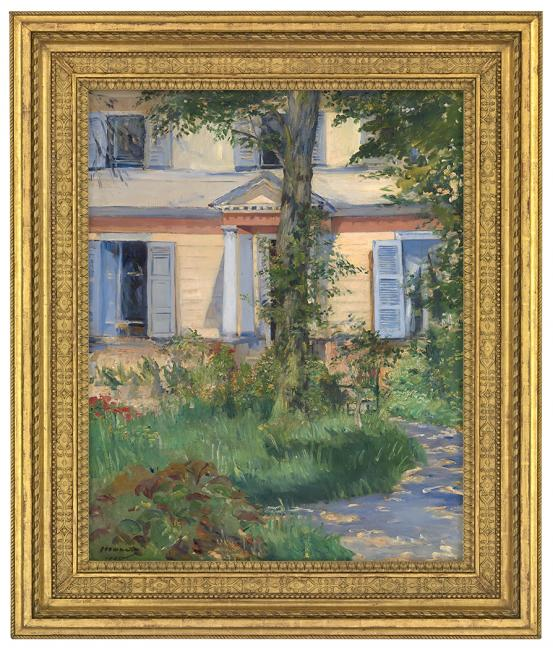 Édouard MANET The house at Rueil 1882