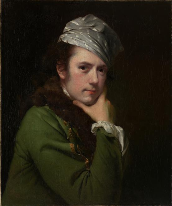 Joseph WRIGHT of Derby Self-portrait (1765-1768)