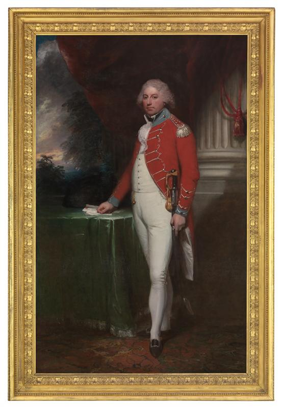 William BEECHEY Rt Hon. John Rous, 6th Baronet, later first Earl of Stradbroke in Suffolk Yeomanry Cavalry Uniform (1796)