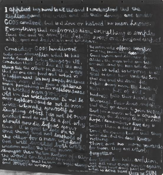 Colin McCAHON I applied my mind 1982