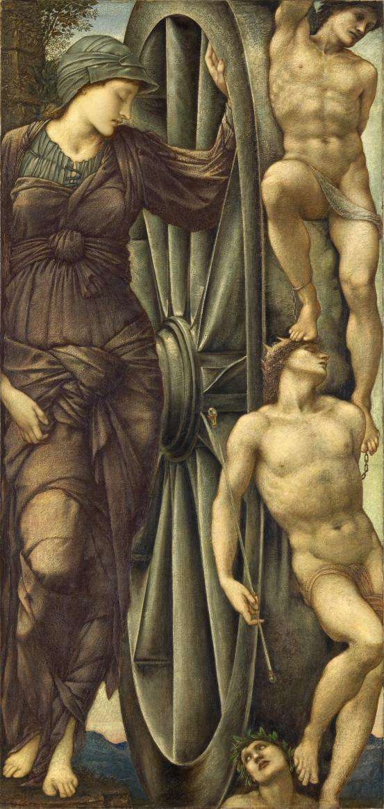 Edward BURNE-JONES The Wheel of Fortune (1871-1885)