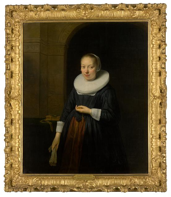 THE NETHERLANDS Portrait of a lady (c. 1640)