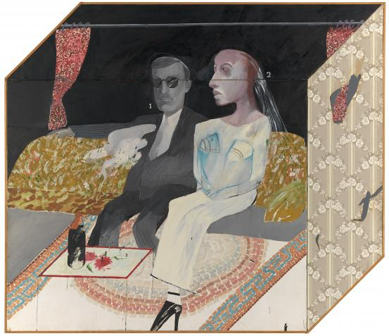 David HOCKNEY The second marriage (1963)