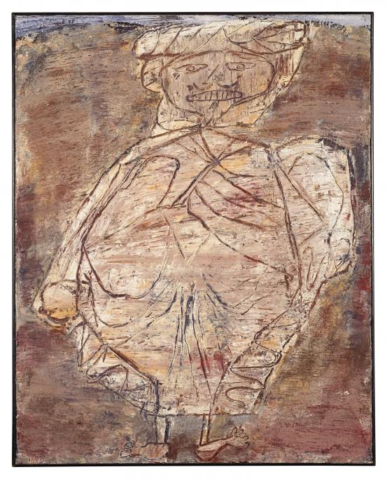 Jean DUBUFFET Arab in a burnous 1948