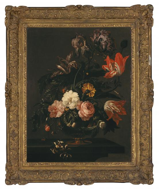THE NETHERLANDS Flowerpiece (late 17th century)