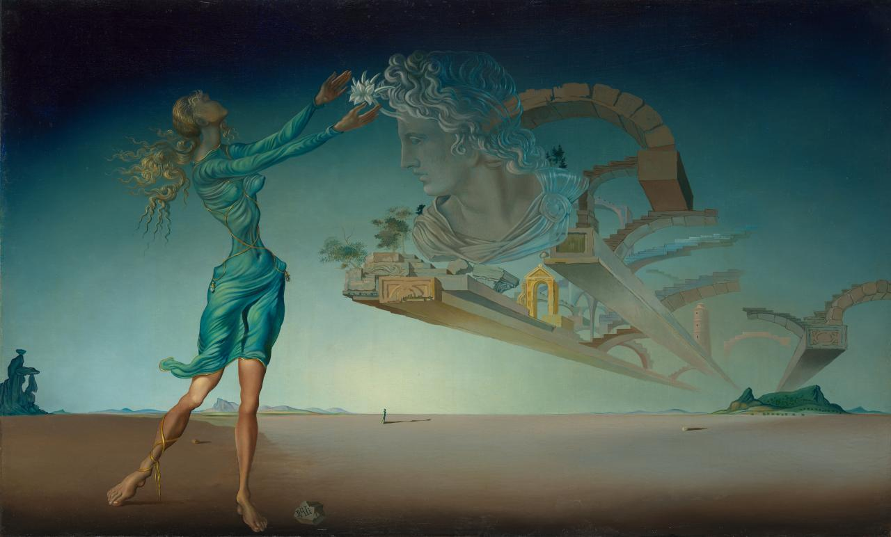 Collection Appeal Part One Salvador Dali S Trilogy Of The Desert Mirage 1946 Ngv