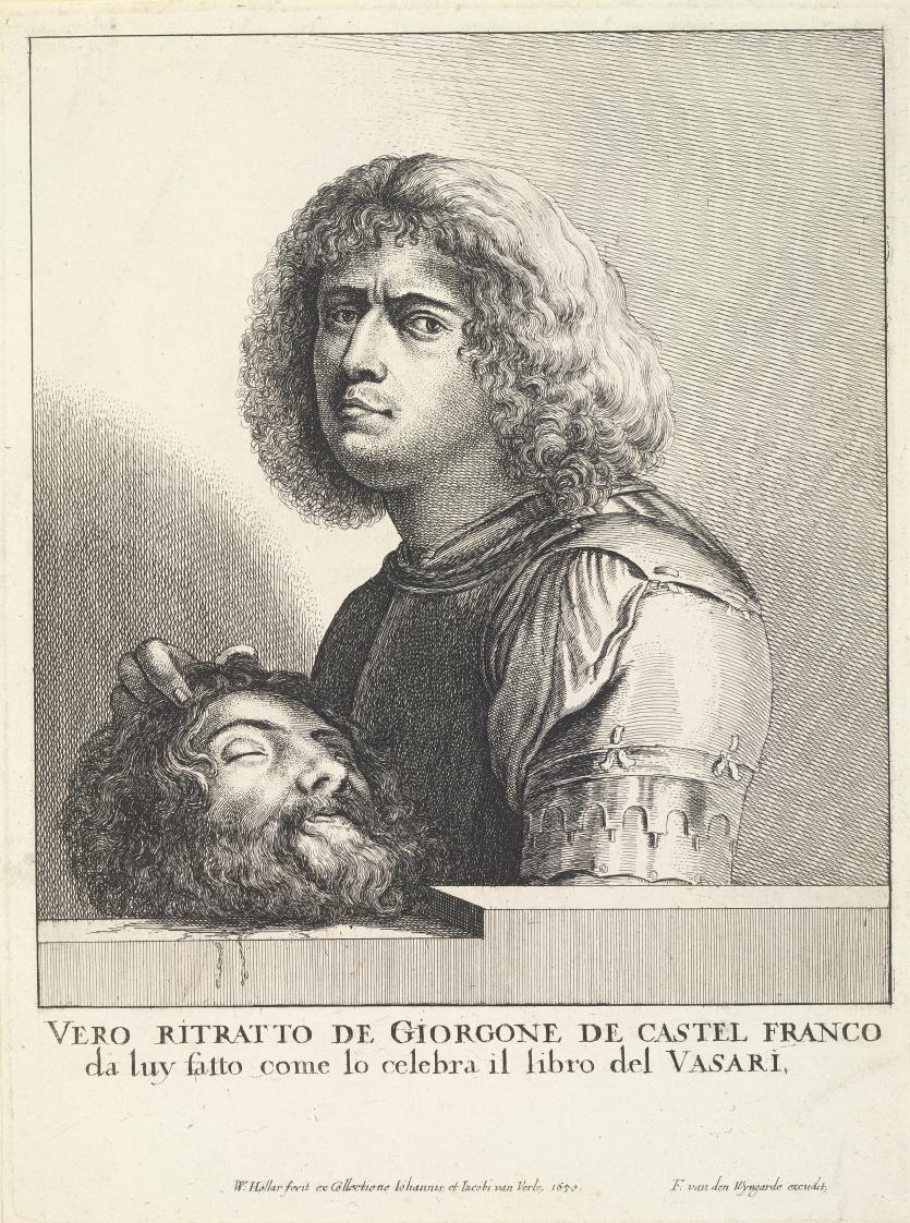 giorgione selfportrait as david with the head of goliath