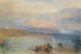 J. M. W. TURNER The Red Rigi 1842