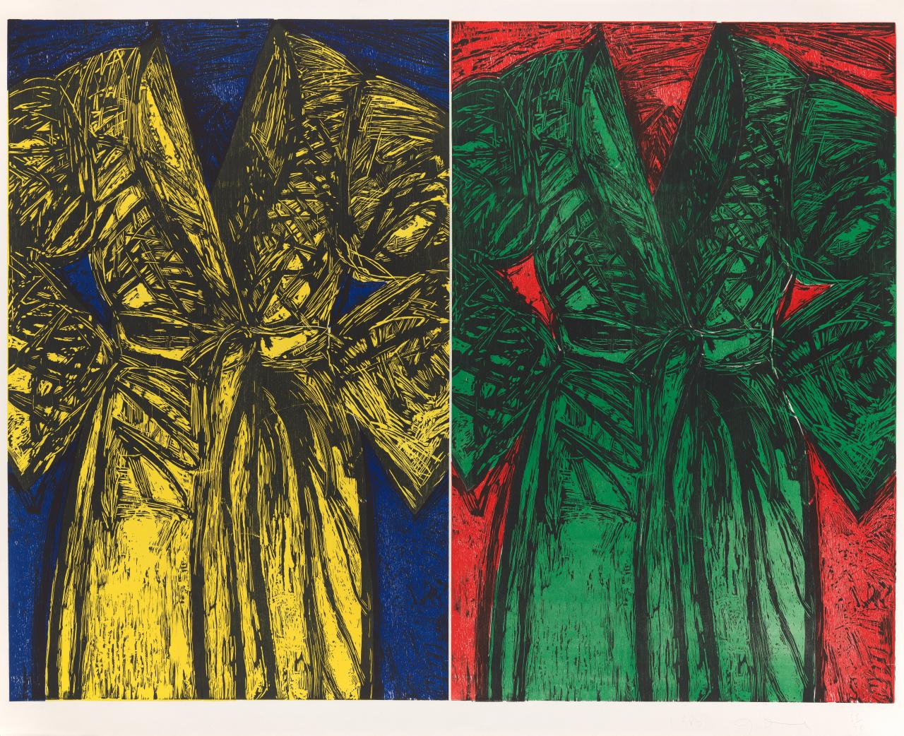 Ngv Reveals 100 Jim Dine Prints Gifted By The Artist Ngv