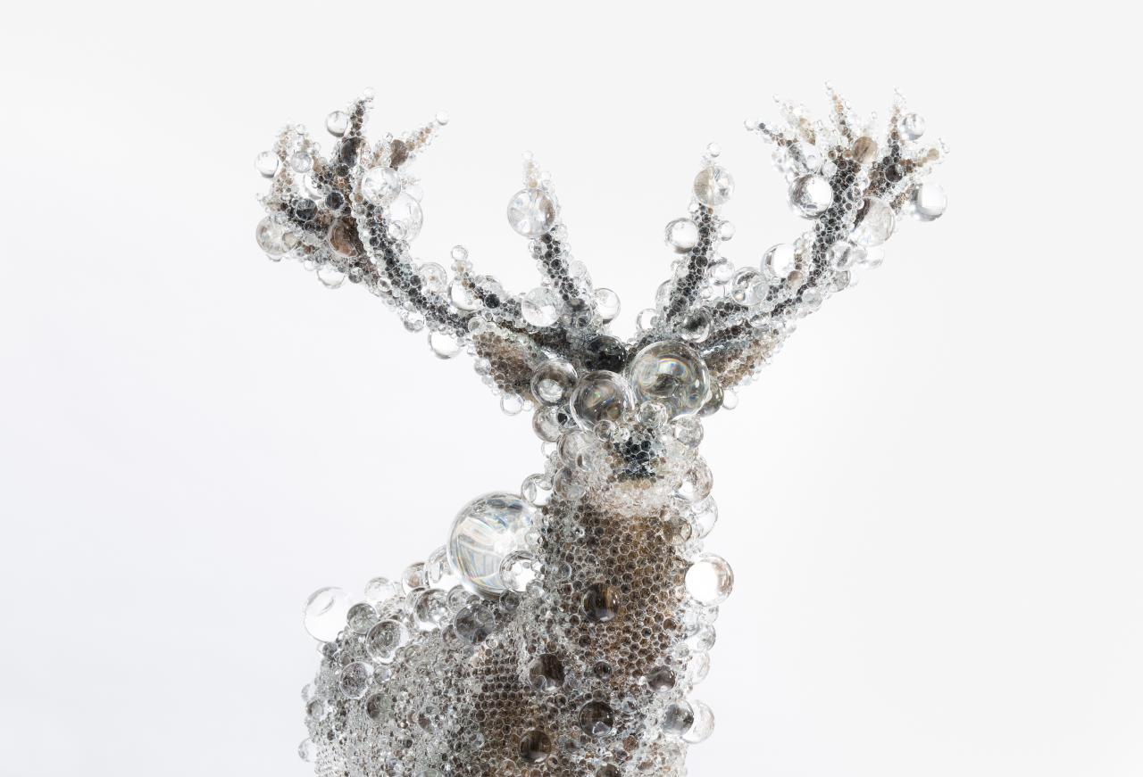 Kohei NAWA PixCell-Red Deer (2012) (detail)