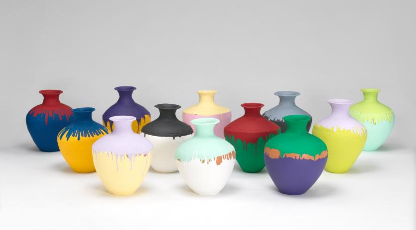 Coloured Vases Ai Weiwei Ngv View Work