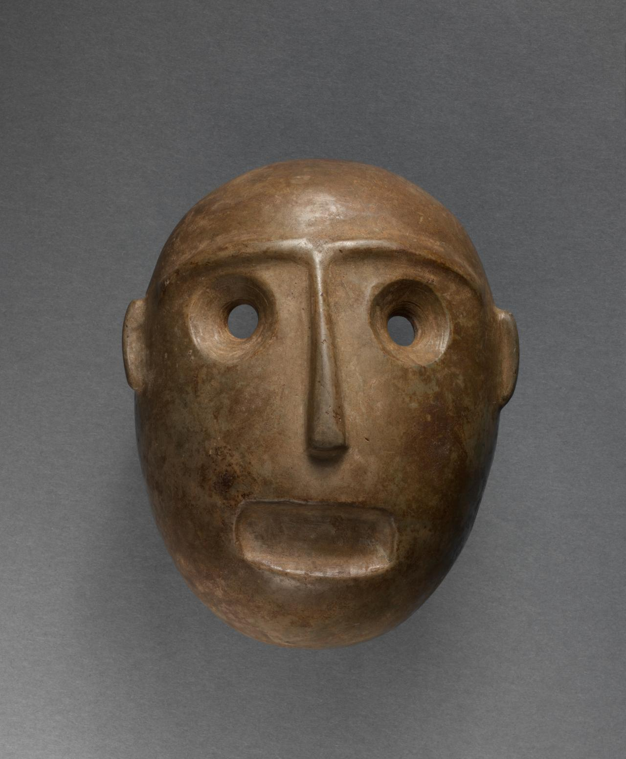 Colima, West Mexico Mask 400 BCE-200 BCE