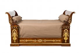 Merveilleux FRANCE Bed (Lit) Empire Period 1804 15. Mahogany (Swietenia Macrophylla),  Gilt Bronze 135.0 X 202.0 Cm. Les Arts Décoratifs, Musée Des Arts  Décoratifs, ...