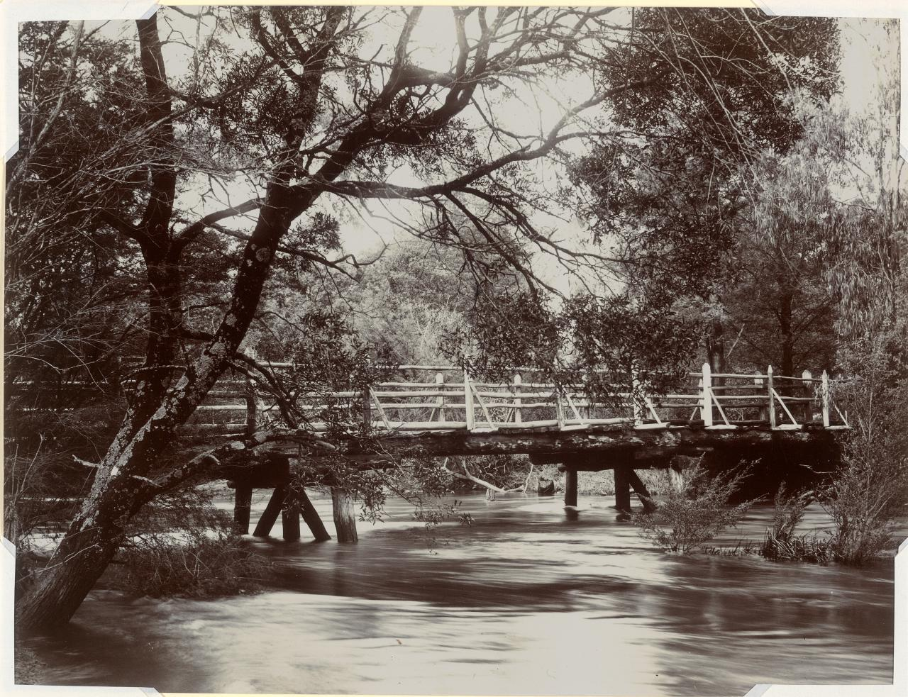 Crossing place at Yarra Doon near Launching Place