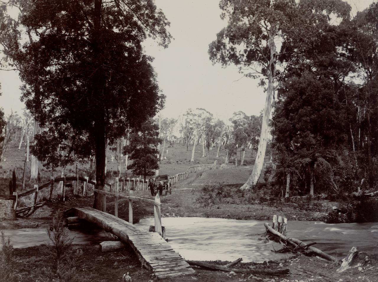 Crossing on the Badger River at Healesville