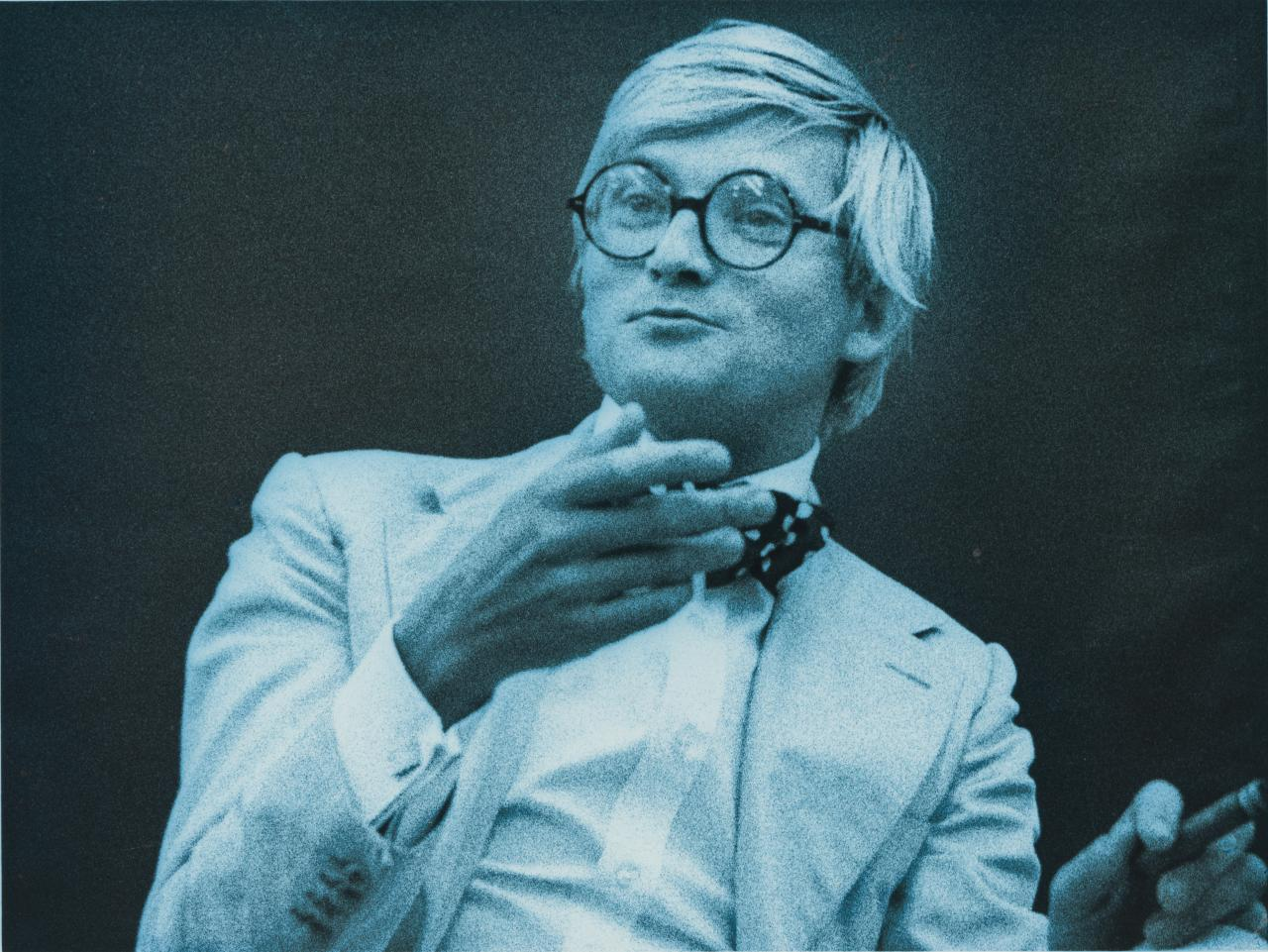 David Hockney, number three