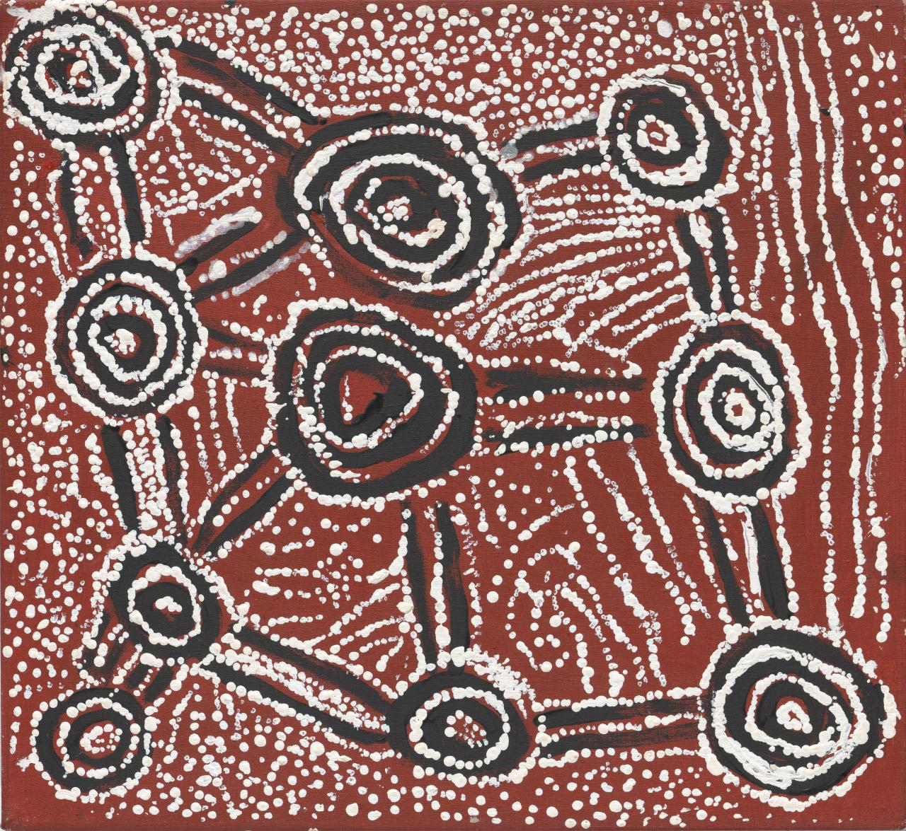 Untitled (Tingarri designs associated with Tarkulnga)