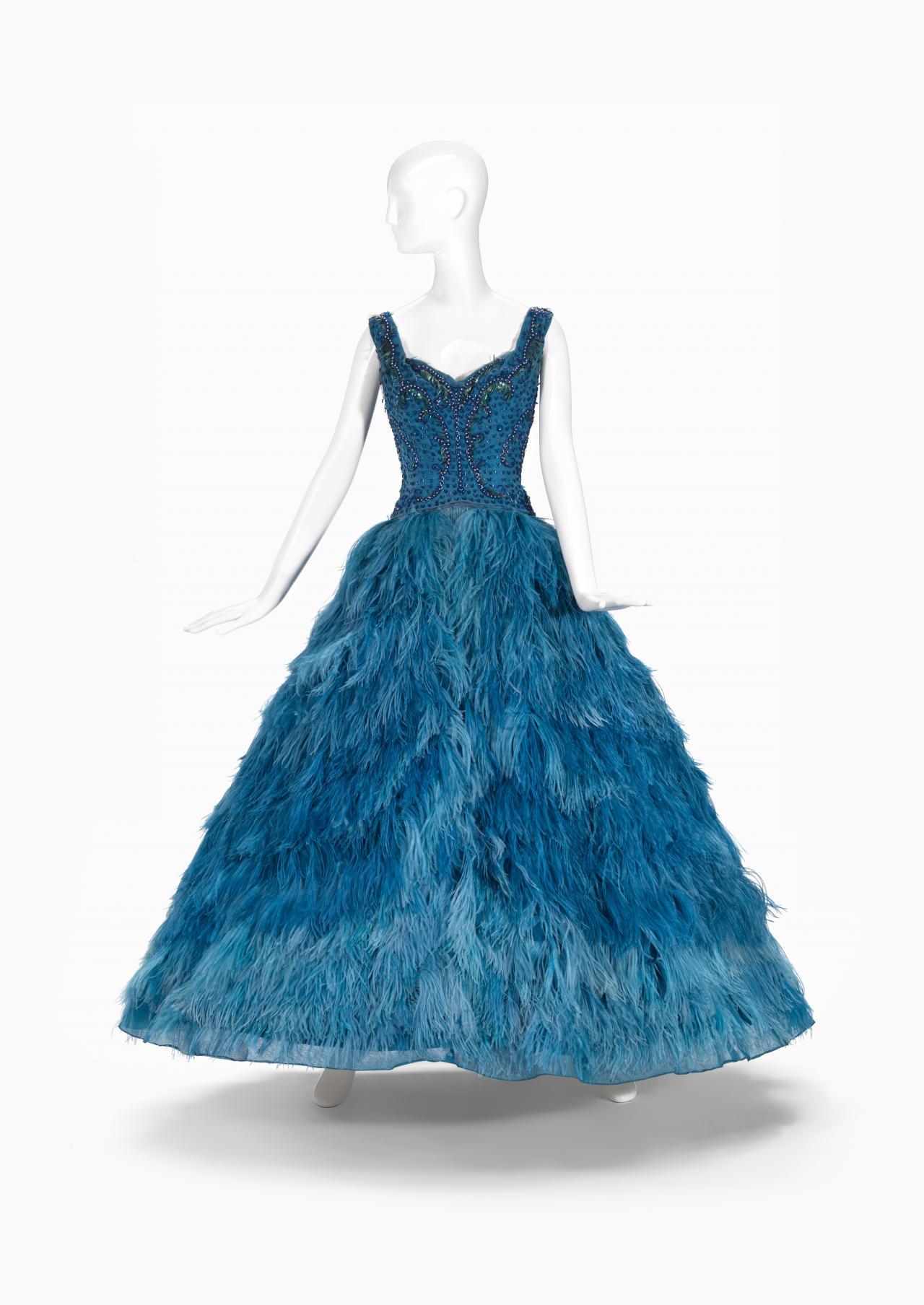 Evening dress   LA PETITE, Melbourne (fashion house); Pat ROGERS ...