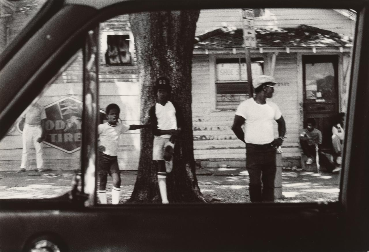 Black neighbourhood, New Orleans, Louisiana, June